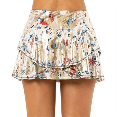 Lucky in Love A Stitch In Time Skirt Womens Champagne CB451 211