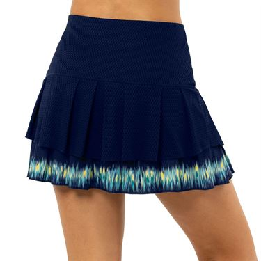 Lucky in Love Peace Out Long Let It Be Skirt Womens Midnight CB459 C74401
