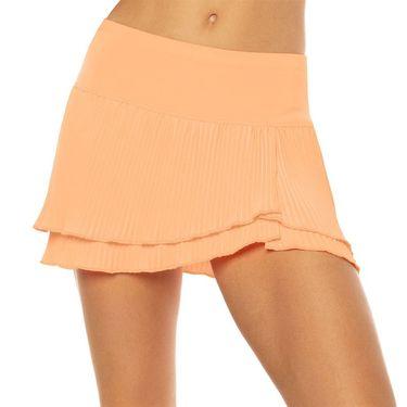 Lucky in Love Eyelet Go Long Effortless Skirt Womens Orange Frost CB461 824