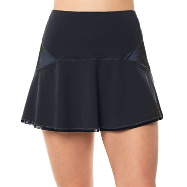 Lucky in Love On The Prowl Mix It Up Skirt Womens Charcoal CB462 C42040