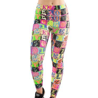 Lucky in Love Rockin Rococo Hi Lucky Lane Legging Womens Multi CB470 D49955