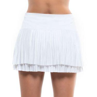 Lucky in Love Going Wild Long Effortless Skirt Womens White CB509 110