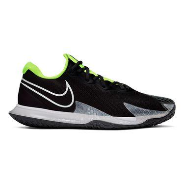 Nike Court Air Zoom Vapor Cage 4 Mens Tennis Shoe Black/White/Volt/Dark Smoke Grey CD0424 001