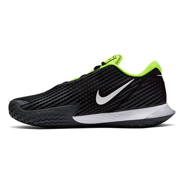 Nike Court Air Zoom Vapor Cage 4 Mens Tennis Shoe Black/White/Volt/Dark Smoke Grey CD0424 001