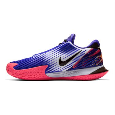 Nike Court Air Zoom Vapor Cage 4 Mens Tennis Shoe Black/White/Laser Crimson/Persian Violet CD0424 003û