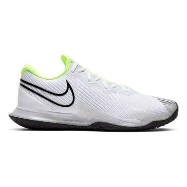 Nike Court Air Zoom Vapor Cage 4 Mens Tennis Shoe White/Black/Volt/Pure Platinum CD0424 100