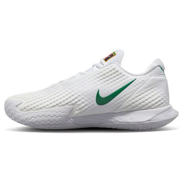 Nike Court Air Zoom Vapor Cage 4 Mens Tennis Shoe White/Clover CD0424 102