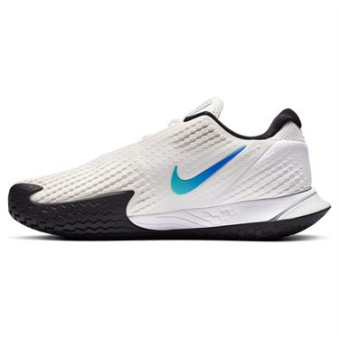 Nike Court Air Zoom Vapor Cage 4 Mens Tennis Shoe Summit White/Black/Electro Green CD0424 103