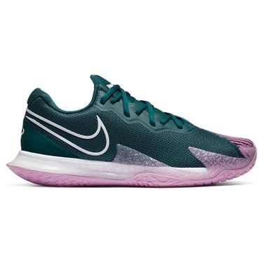 Nike Court Air Zoom Vapor Cage 4 Mens Tennis Shoe Dark Atomic Teal/Beyond Pink CD0424 300