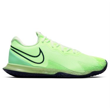 Nike Air Zoom Vapor Cage 4HC Mens Tennis Shoe Ghost Green/Blackened Blue/Barely Volt CD0424 302