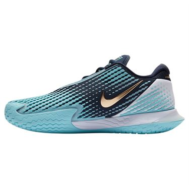 Nike Court Air Zoom Vapor Cage 4 Mens Tennis Shoe - Obsidian/Blue