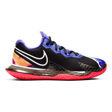 Nike Court Air Zoom Vapor Cage 4 Womens Tennis Shoe Black/White/Laser Crimson/Persian Violet CD0431 003