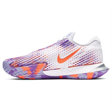 Nike Court Air Zoom Vapor Cage 4 Womens Tennis Shoe White/Wild Berry/Purple Pulse CD0431 103