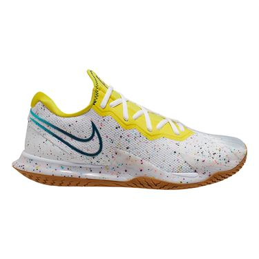 Nike Court Air Zoom Vapor Cage 4 Womens Tennis Shoe White/Valerian Blue/Oracle Aqua CD0431 107