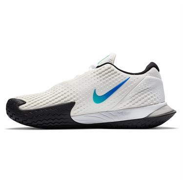 Nike Court Air Zoom Vapor Cage 4 Womens Tennis Shoe Summit White/ Black/Electro Green CD0431 112