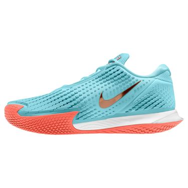 Nike Court Air Zoom Vapor Cage 4 Womens Tennis Shoe - Copa/Metallic Gold/ Bright Mango/White