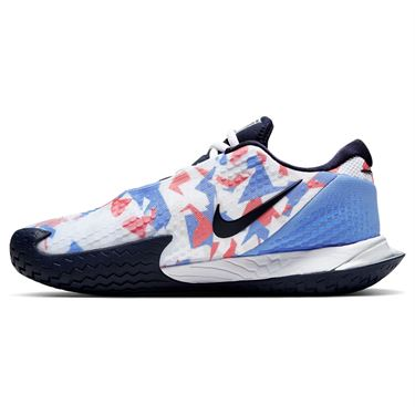 Nike Court Air Zoom Vapor Cage Womens Tennis Shoe Royal Pulse/Obsidian/White/Sunblush CD0431 406