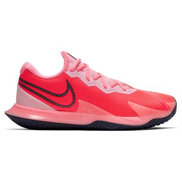 Nike Court Air Zoom Vapor Cage Womens Tennis Shoe Laser Crimson/Blackened Blue/Pink CD0431 604