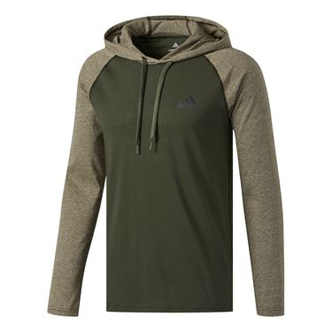 adidas Ultimate Hooded Tee - Night Cargo