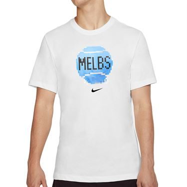 Nike Court City Tee Shirt Mens White CD2136 100