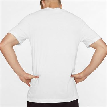 Nike Court City Tee Shirt Mens White CD2136 100