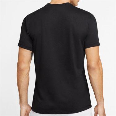 Nike Court Dry Rafa Tee Shirt Mens Black CD2144 010