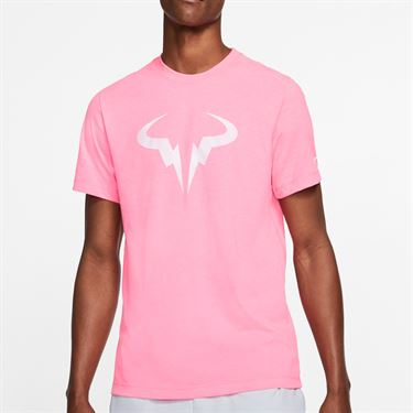 Nike Court Dry Rafa Tee Shirt Mens Digital Pink CD2144 679