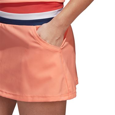 adidas Club Skirt - Chalk Coral