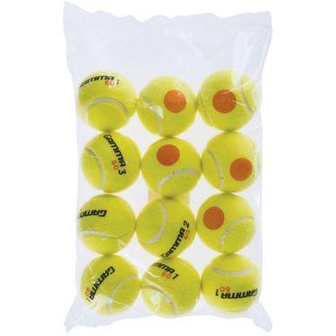 Gamma 60 Orange Dot Tennis Balls 12 Pack