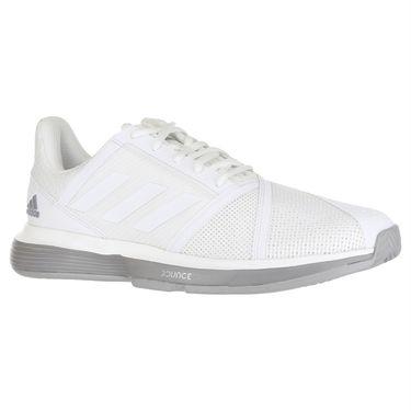 adidas Court Jam Bounce Womens Tennis Shoe - White/Light Granite