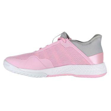 adidas Adizero Club Womens Tennis Shoe - Light Granite/White/True Pink