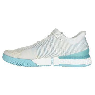 adidas Adizero Ubersonic 3 Parley Mens Tennis Shoe - White/Blue Spirit