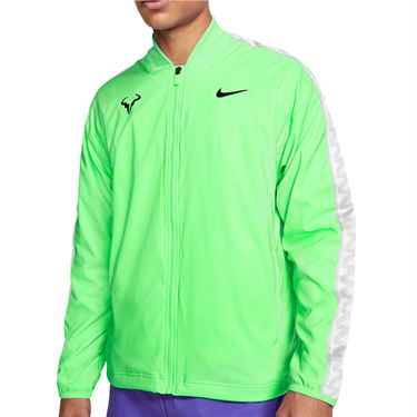 Nike Rafa Full Zip Jacket Mens Green Strike/Black CI9135 398