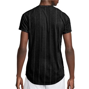 Nike Court Challenger Crew Shirt Mens Black/White CI9146 010
