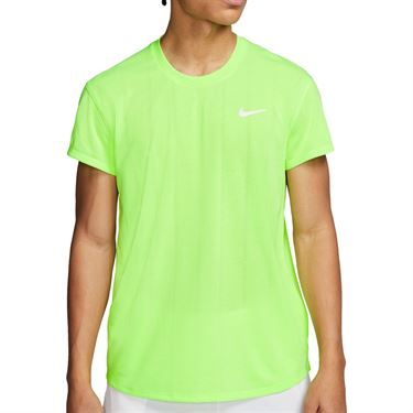 Nike Court Challenger Crew Shirt Mens Ghost Green/White CI9146 358