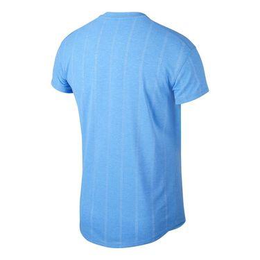 Nike Court Challenger Crew Shirt Mens Royal Pulse/White CI9146 478