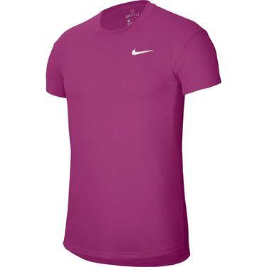 Nike Court Challenger Crew Shirt Mens Cactus Flower/White CI9146 564