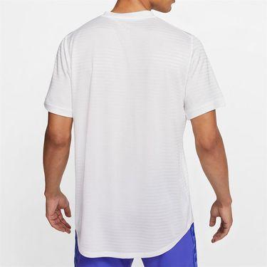Nike Rafa Challenger Crew Shirt Mens White/Gridiron CI9148 100