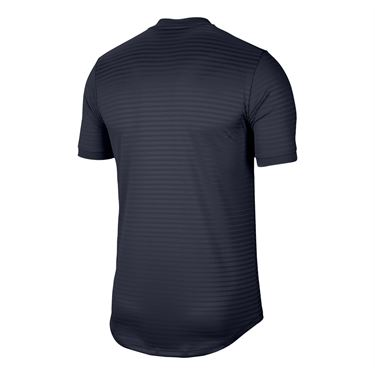 Nike Rafa Challenger Crew Shirt Mens Obsidian/White CI9148 451