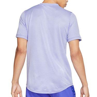 Nike Rafa Challenger Crew Shirt Mens Purple Pulse/Black CI9148 531