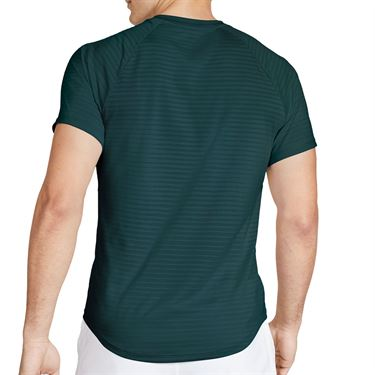 Nike Court Rafa Shirt Mens Dark Atomic Teal/White CI9152 300