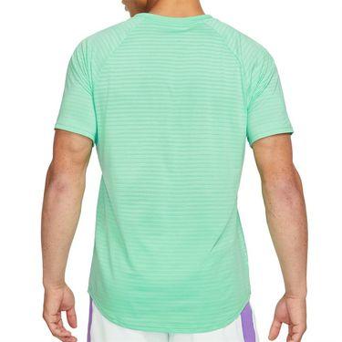 Nike Court AeroReact Rafa Slam Crew - Green Glow/Thunder Blue