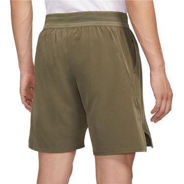 Nike Court Flex Ace 9 inch Short Mens Medium Olive/White CI9162 222