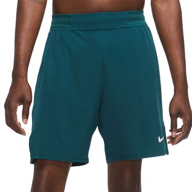Nike Court Flex Ace 9 inch Short Mens Dark Atomic Teal/White CI9162 300