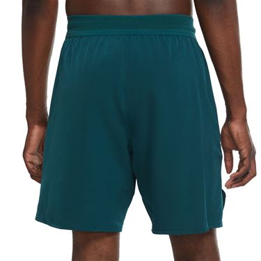 Nike Court Flex Ace 9 inch Short Mens Dark Atomic Teal/White CI9162 300