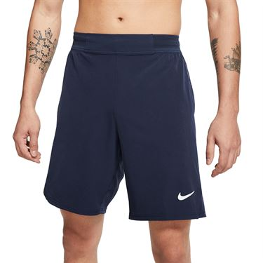 Nike Court Flex Ace 9 inch Short Mens Obsidian/White CI9162 451