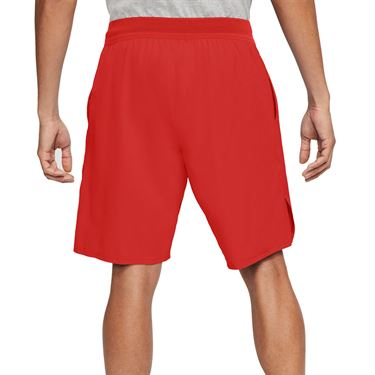 Nike Court Flex Ace 9 inch Short Mens Habanero Red/White CI9162 634