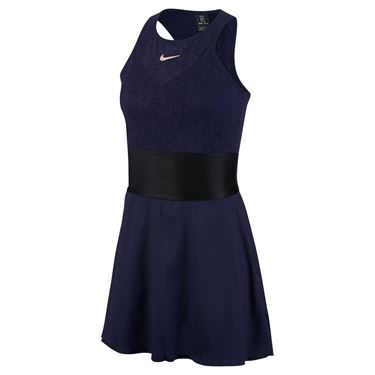 Nike Maria Dress Womens Blackened Blue/Black/Stone Mauve CI9212 498