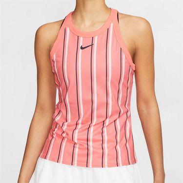 Nike Court Dri Fit Tank Womens Sunblush/Obsidian CI9314 655