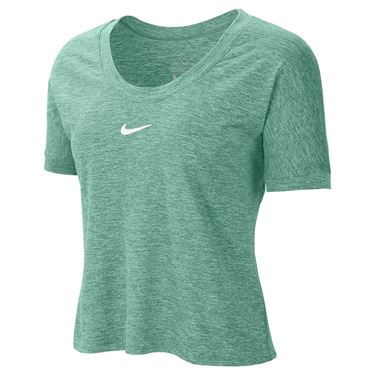 Nike Court Dri Fit Top Womens Healing Jade/White CI9316 316